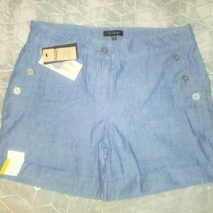 NWT THE LIMITED SHORTS, TAILORED, SZ 8